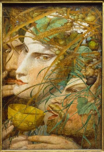 Escena de bacanal, de Richard Dadd.