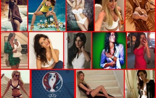 Las mujeres de la Eurocopa 2016