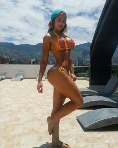 Espectacular Paola Usme