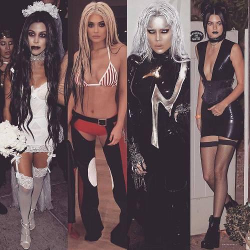 Así vivieron Halloween las famosas