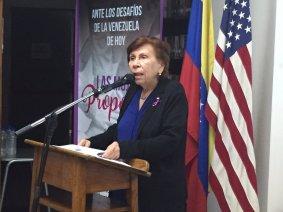 Isolda Heredia de Salvatierra - Las Mujeres Proponen