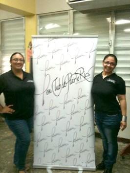 Musa Lolita Rivera y Mayra García, vocal del PEN Club