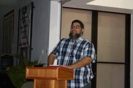 Director del colectivo Algo Que Decir, Lionel A. Santiago Vega