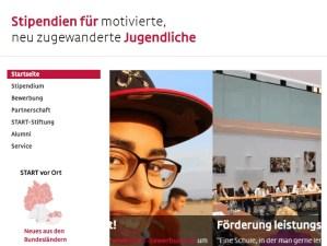 Start Stipendien für Migranten