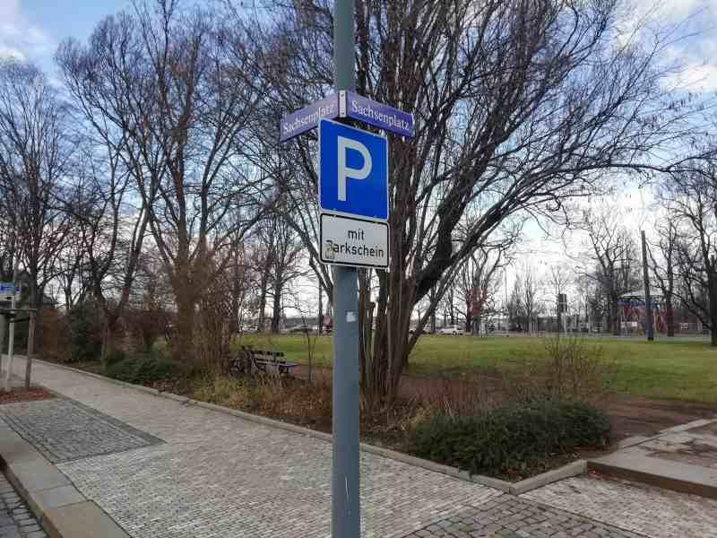 Sachsenplatz in Dresden