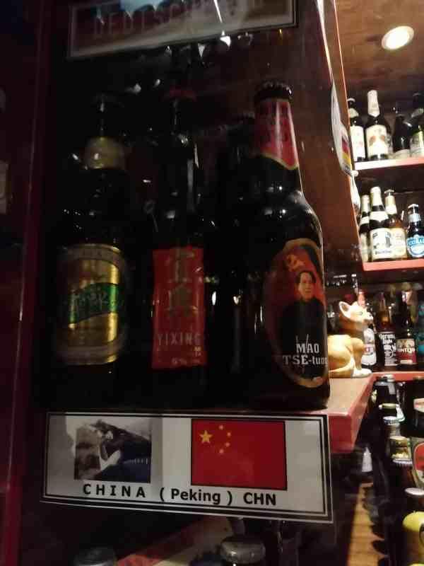 Bier wird auch in China gebraut