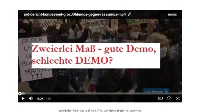 Gute Demo, schlechte Demo