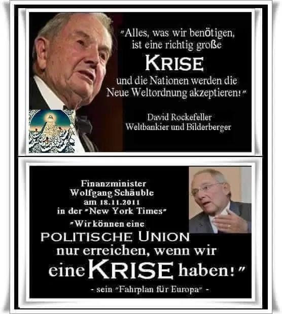 Angst und Macht - David Rockefeller und Wolfgang Schäuble