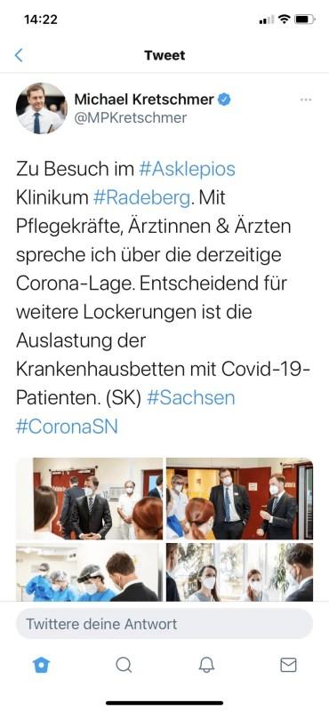 Twitter Screenshot MP Kretschmar