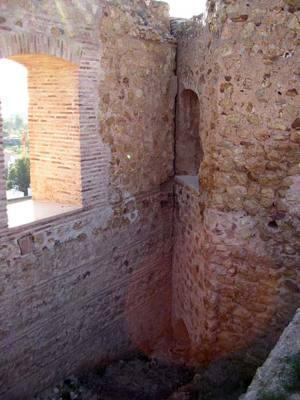Interiores del Castillo de los Vélez