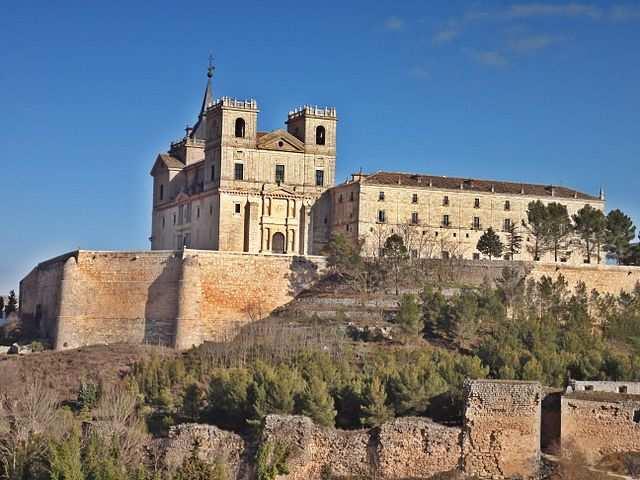Uclés - Monasterio