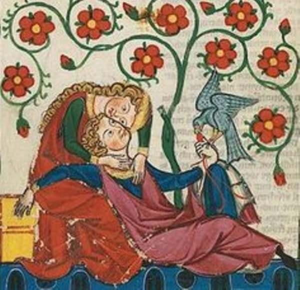 Alfonso VI con Zayda