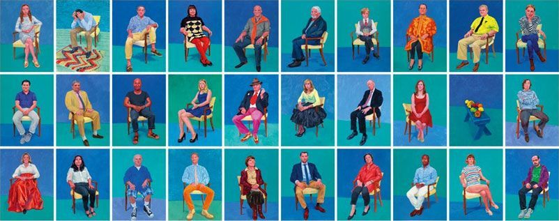 David Hockney. La belleza del retrato
