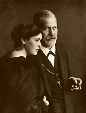 Lou Andreas Salome con Freud