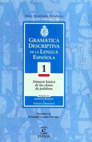 Gramática descriptiva de la lengua española