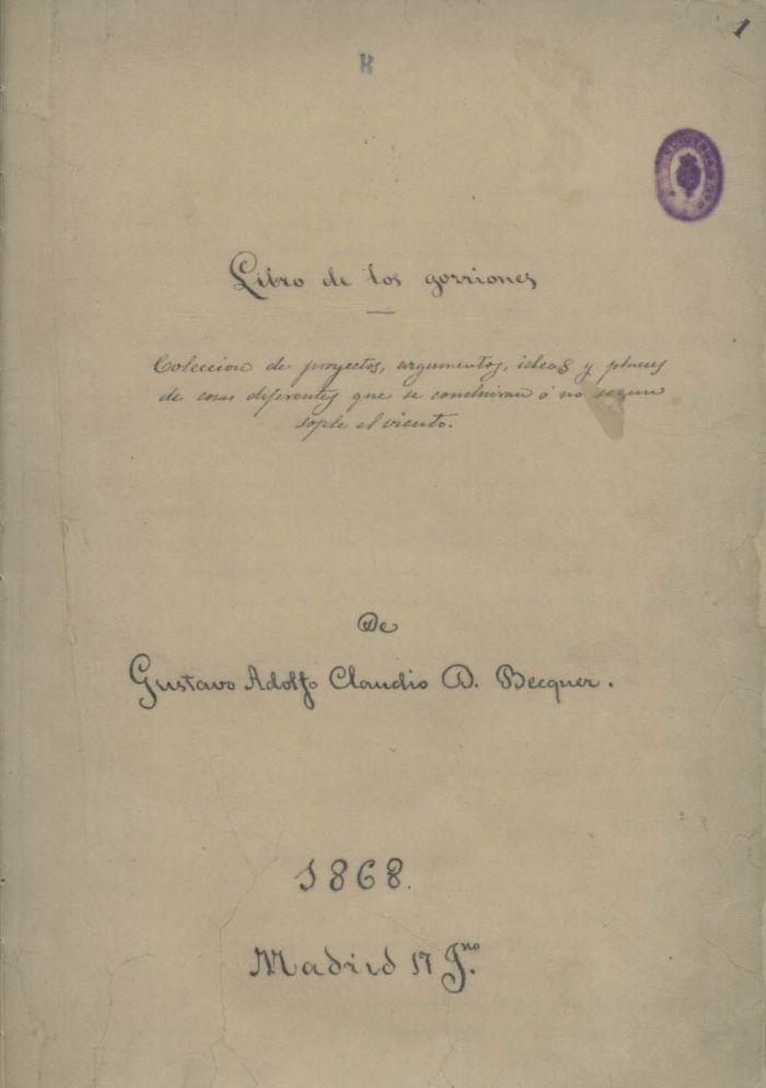 Libro de los gorriones