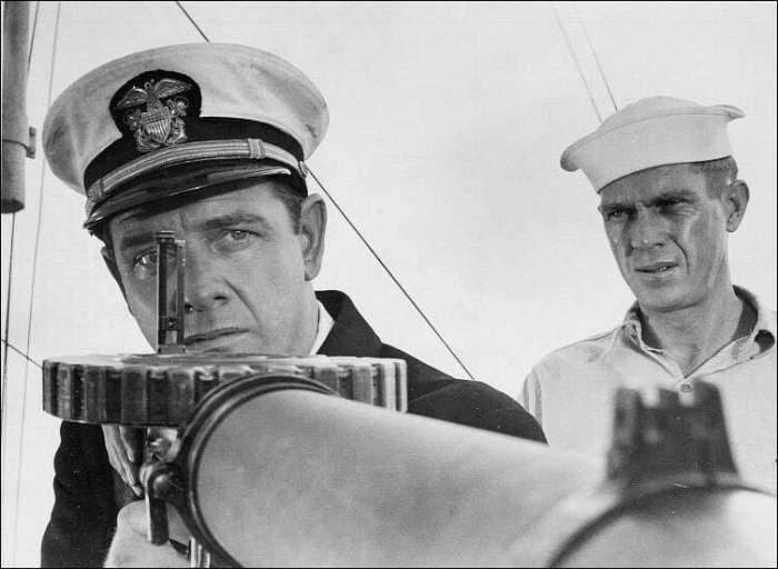 McQueen y Richard Crenna
