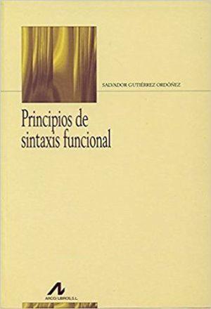 Principios de Sintaxis funcional