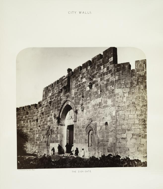 Puerta de Sion, 1865