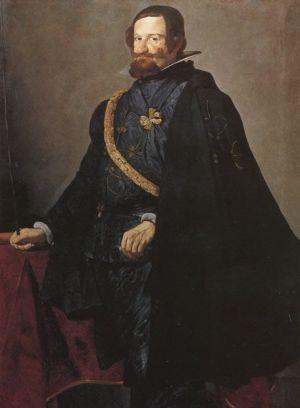 el conde-duque de olivares por Velázquez