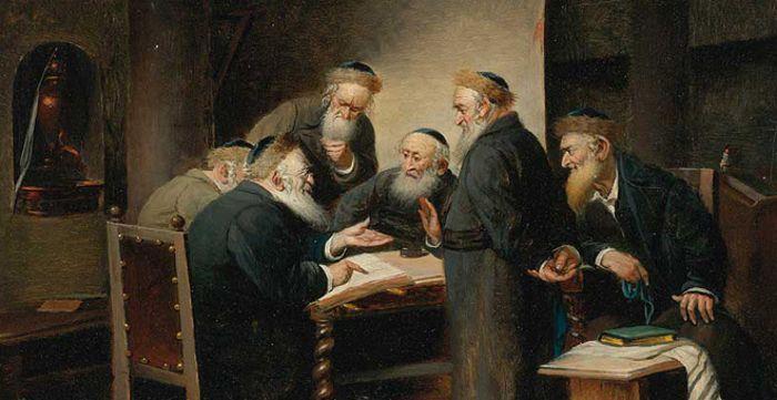 estudiando el Talmud