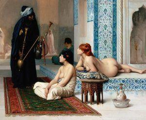 eunuco en un harem