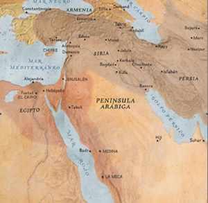 Mapa influencia de nizaríes
