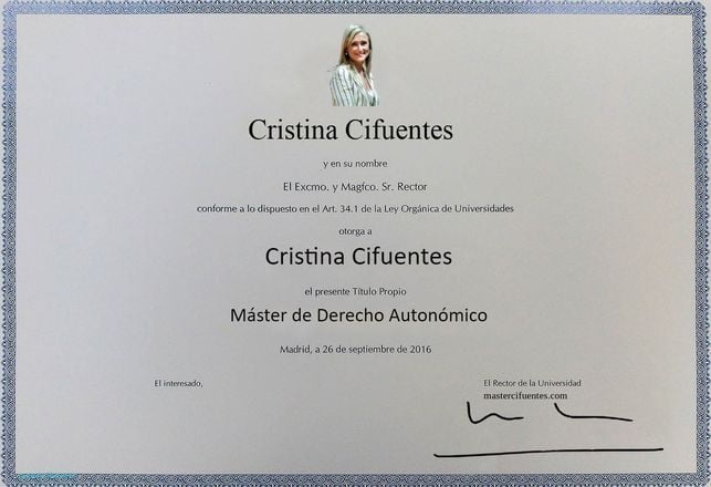 master cifuentes