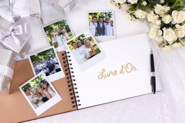 Créer un livre d'or avec un polaroid à son mariage - La Soeur de la Mariée - Blog Mariage
