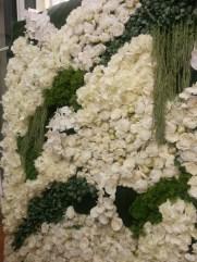 Les Coulisses du mariage - Mille et une listes - La Soeur de la Mariée - Mur végétal de Reflets Fleurs