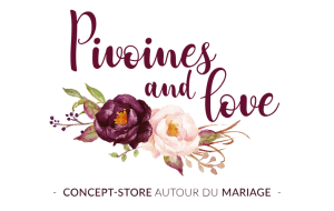 Logo Pivoines and Love Concept-store mariage à Paris