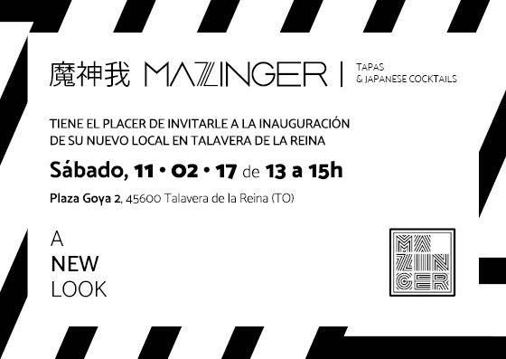 Inauguración «Mazinger» , Bar de Tapas Japonés en Talavera de La Reina