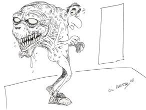 Dibujo original de Jose Gil