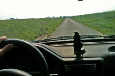 voiture interieur a 80km h
