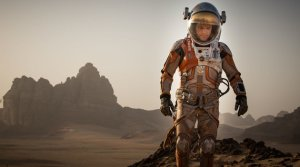 Matt Damon portrays the titular hero in THE MARTIAN.