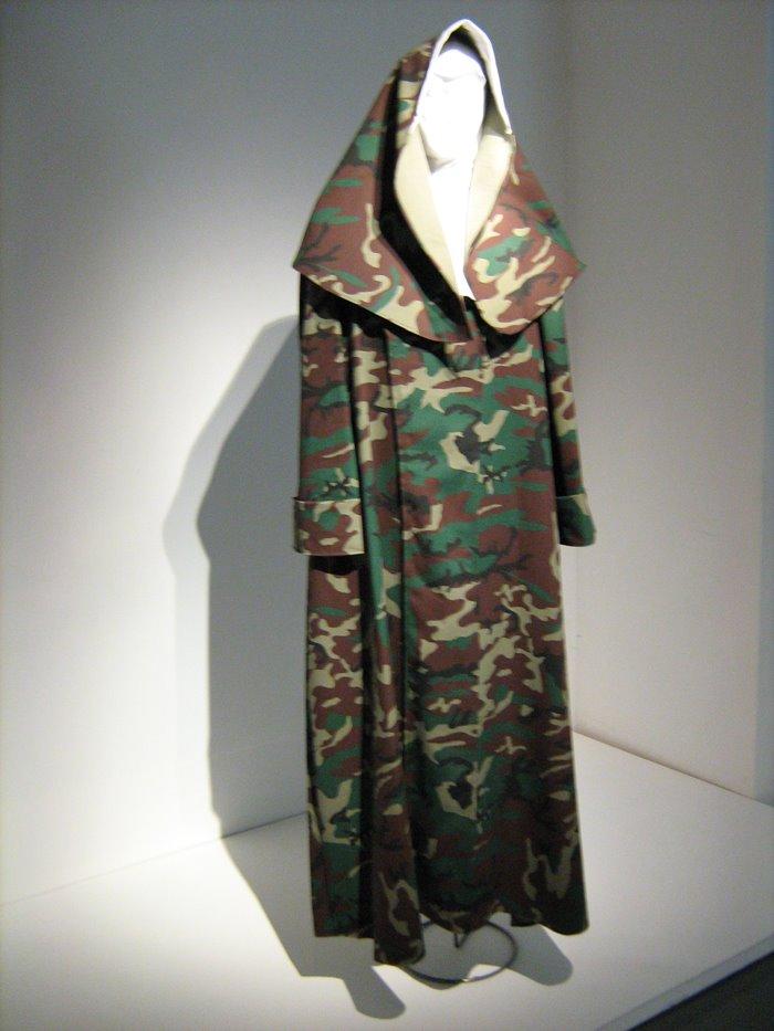 Hábito monja de camuflaje