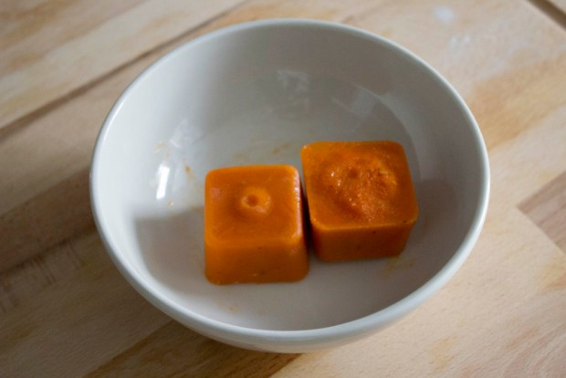 cubitos de tomate casero