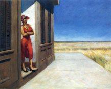 Edward Hopper, Carolina morning.