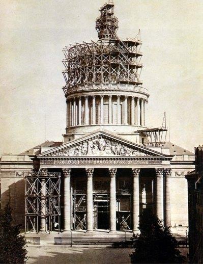 Costruzione del Pantheon.