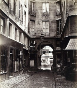 Passage Saint-Guillaume all'altezza di rue Richilieu.