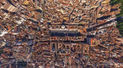 Piazza Navona dal satellite