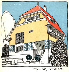 Progetto per l'abitazione di Joseph Maria Olbrich.
