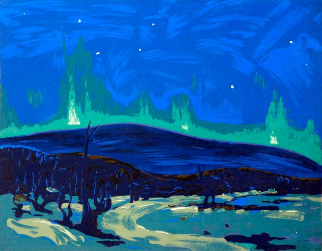 Tom Thomson, Aurora boreale.
