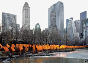 The Gates, Central Park, New York City, 1979-2005 6