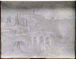 J. M. W. Turner, Villa d'Este, Tivoli.