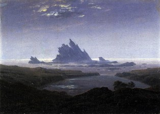 Caspar David Friedrich, Rocky reef on the seashore.