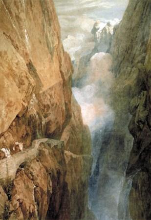 J. M. W. Turner, Passo del San Gottardo.