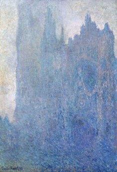 Claude-Monet-cattedrale-Rouen-nella-nebbia