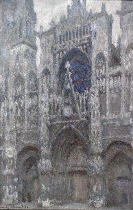 Claude-Monet-cattedrale-Rouen_il-portale-tempo-grigio