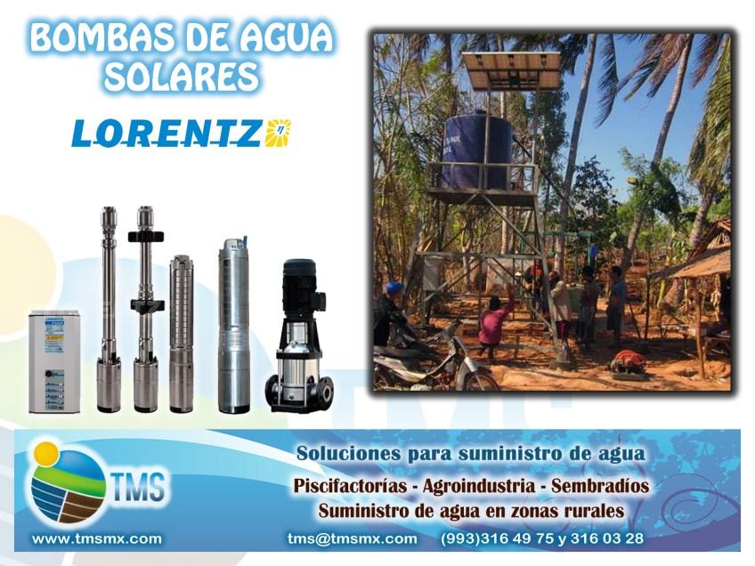 Ideal para zonas rurales, suministro de agua en agricultura, piscifactorias, industria
